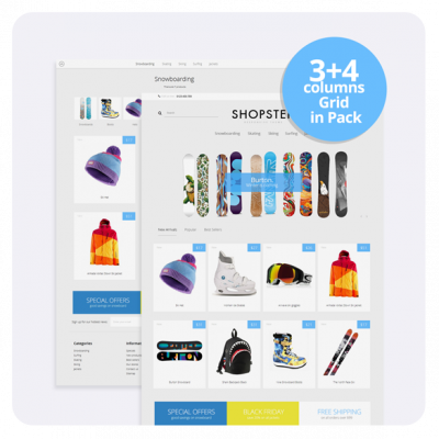 SHOPSTER - Sport Prestashop 1.6 Template