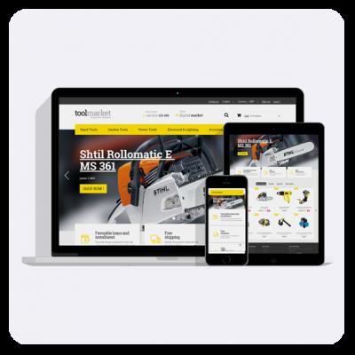 Tools Market Prestashop 1.6 Theme