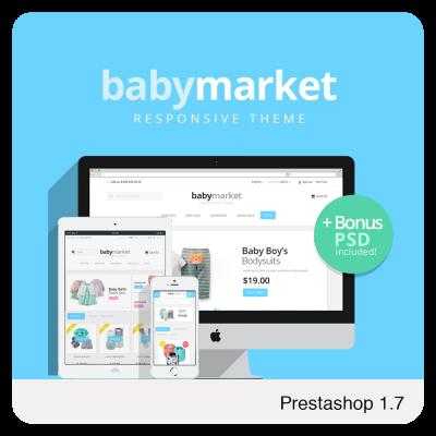 Baby Market Prestashop 1.7 Theme