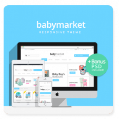 Baby Market Prestashop 1.6 Theme