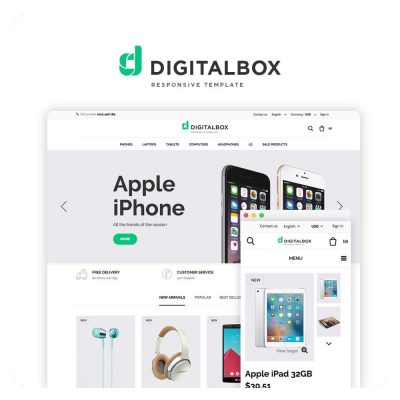 Digitalbox PrestaShop 1.6 Theme