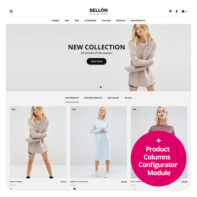 Sellon Prestashop 1.7 Responsive Theme