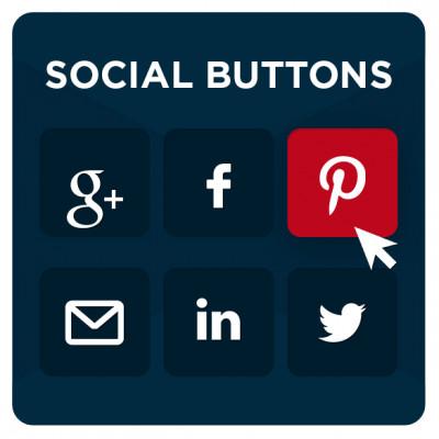 Prestashop Social Buttons