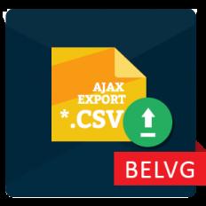 Ajax CSV Product Export
