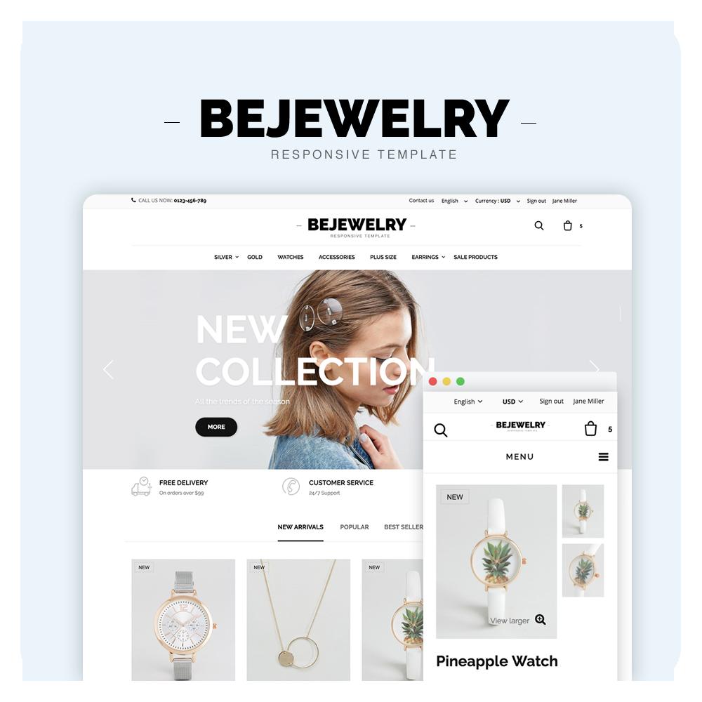 Bejewelry Prestashop 1.6 Responsive Theme