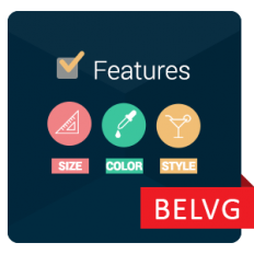 Prestashop Filter by Features