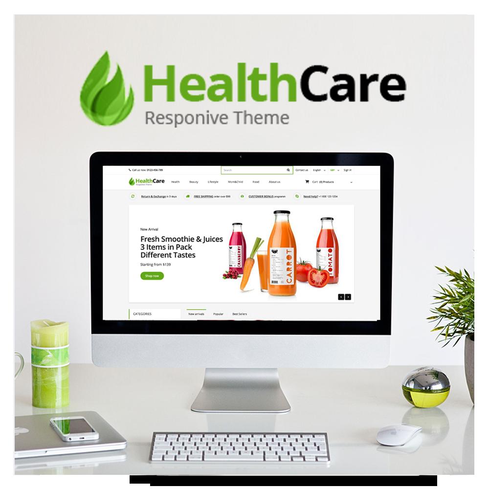 Health Care Prestashop 1.6 Responsive Template