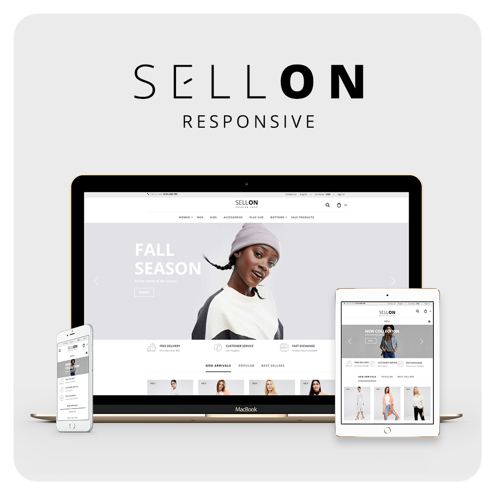 Sellon Prestashop 1.6 Responsive Theme