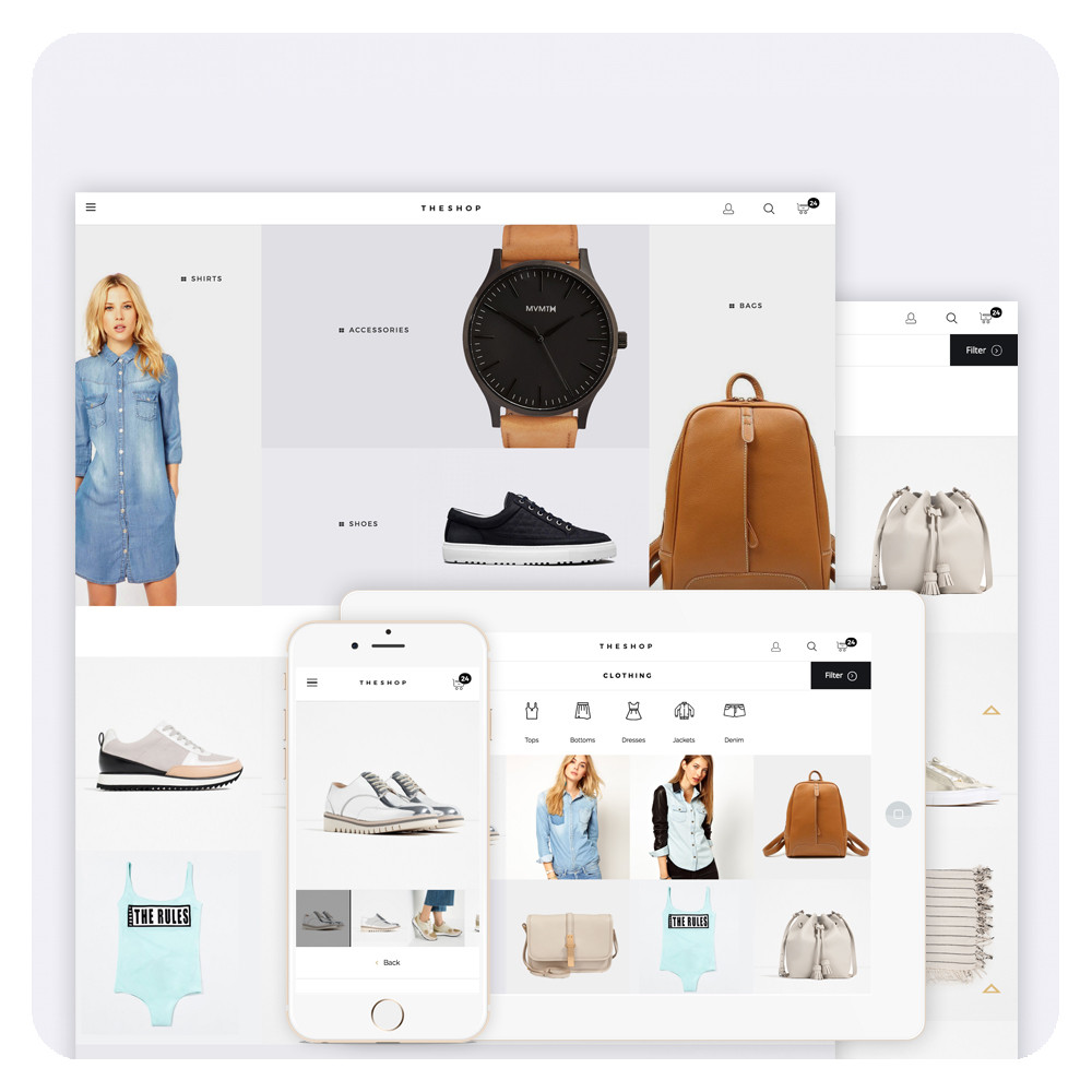 THESHOP Prestashop 1.6 Responsive Template
