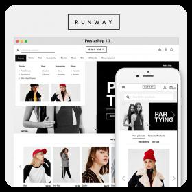 Runway Fashion PrestaShop 1.7 Theme
