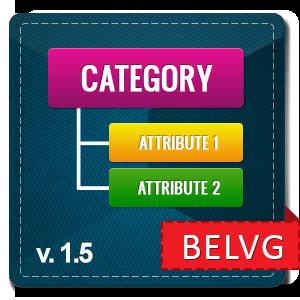 Prestashop Category Attributes