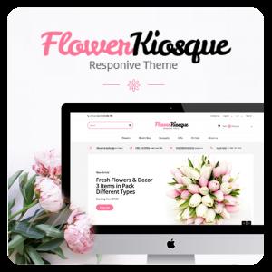 Prestashop 1.6 Flower Kiosque Responsive Template