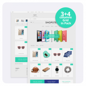 SHOPSTER - Content First Prestashop Theme