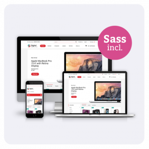 Digital Store Responsive Prestashop 1.6 Theme