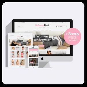 Underwear Prestashop 1.6 Responsive Theme