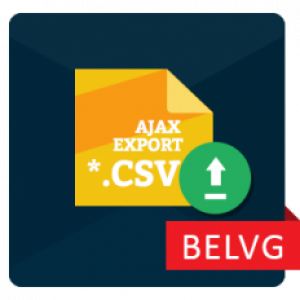 Ajax CSV Product Export