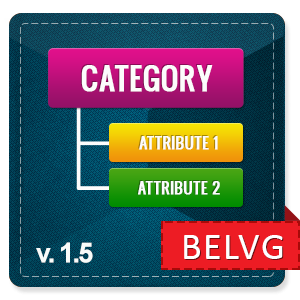 Prestashop Category Attributes