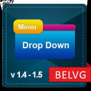 Prestashop Drop-down Menu
