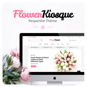Prestashop 1.6 Flower Kiosque Responsive Template