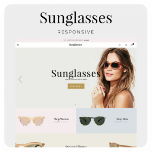 Sunglasses Prestashop 1.6 Responsive Template