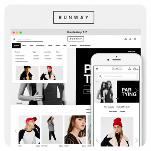 Runway Fashion PrestaShop 1.7 Theme
